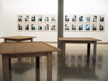 Thomas SCHUTTE, Four tables, 1996